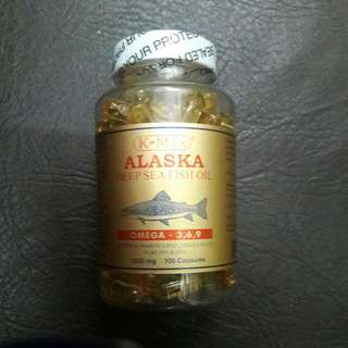 Alaska Deep Sea Fish Oil