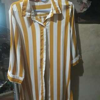 Polo type blouse/dress