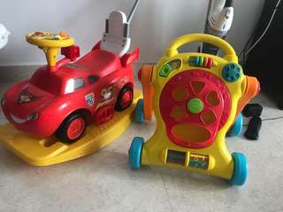 Baby Walker And Car