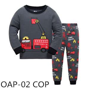 Fire Fighter Long sleeve pajamas OAP02