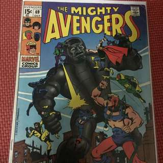 Marvel The Mighty Avengers #69