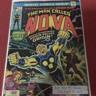 Marvel Nova #1 (First Appearance of Richard Rider Nova)