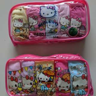 Hello Kitty Girl's Panties (5 pieces/pack)