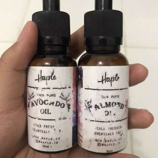 Almond oil & Avocado oil