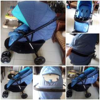 Pre-Loved Sweet Cherry Stroller can Nego