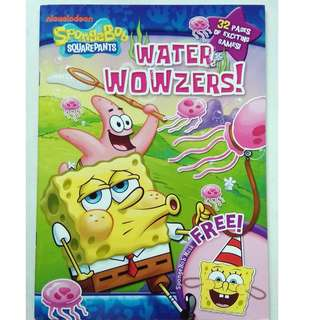 SpongeBob Squarepants Activity Book - Water Wowzers