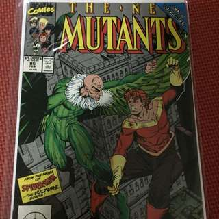 Marvel The New Mutants #86 (Cable 1st Cameo)