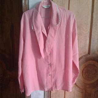 Blouse Pink(GLORIA)