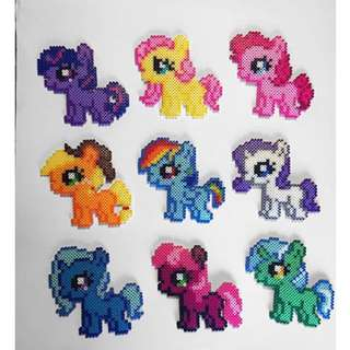 My Little Pony Hama Designs