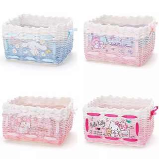 [PO] Sanrio Rectangle Storage Basket