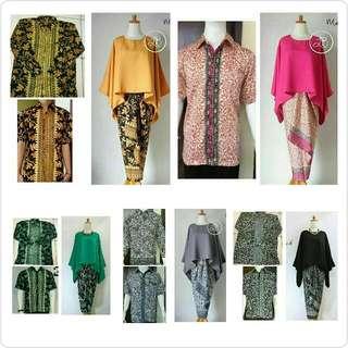 Batwing Batik Set