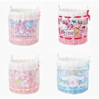 [PO] Sanrio Round Storage Basket