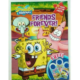 SpongeBob Squarepants Activity Book - Forever Friends