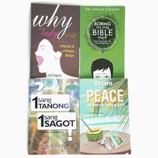 BUNDLE: Christian Books by Pinoy Authors (Ed Lapiz & Rei Lemuel Crizaldo)