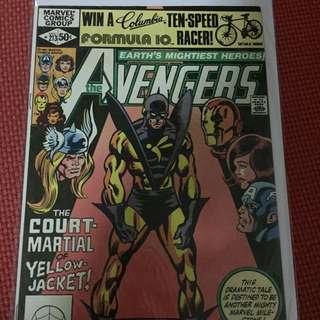 Marvel Avengers #213