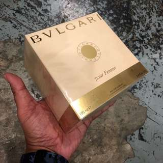 Authentic Original Bulgari Pour Femme EDP Perfume 100ml Limited Stock First Come First Served 😎👍