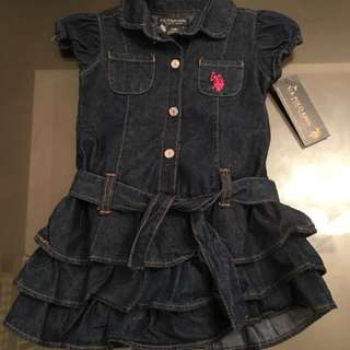 Denim dress 2 years