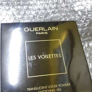 Guerlain les violettes loose transparent powder