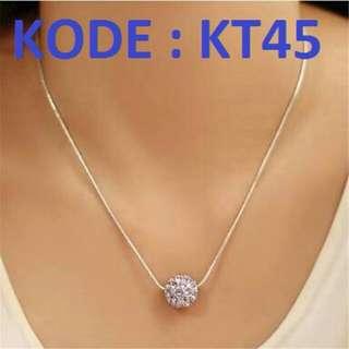 kalung anti karat crystal KT 45