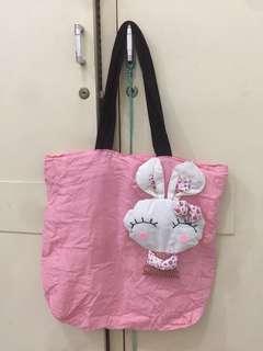 (NEW)🎖Tas Anak Bunny soft pink