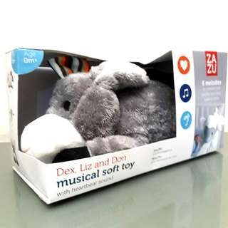 NEW Musical Soft Toy for 0m+ | Boneka untuk Bayi