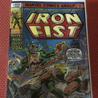 Marvel Iron Fist #73 Lenticular