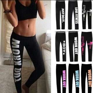 Women Workout Legging Yoga Gym Fitness Sports Training Pants