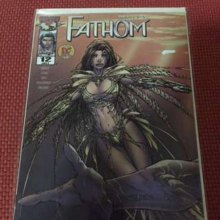 Image Fathom Dynamic Force #12 with COA