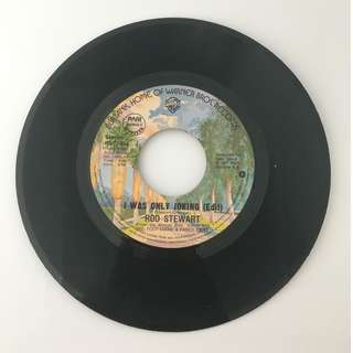 Rod Stewart - I Was Only Joking (Edit) / Born Loose - Vintage Vinyl Record