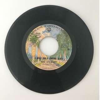 Rod Stewart - I Was Only Joking (Edit) / Born Loose - Vintage Vinyl Record
