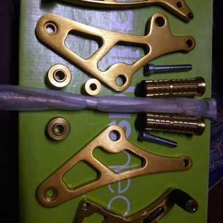 RACING1 Single shifter / rearset