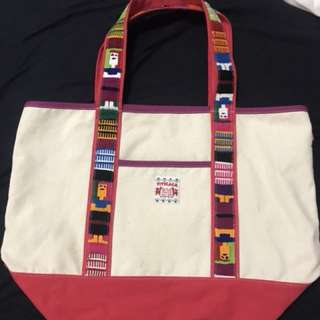 (Discounted) Titicaca 民族風粉紅袋 tote bag