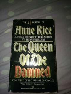 Anne Rice Vampire Chronicles III - Queen of the Damned