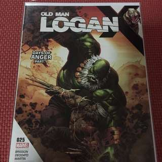 Marvel Old Man Logan #25