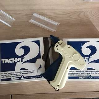 Brand new tagging guns x2 and tags/ barbs for selling your new items!