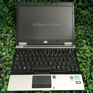 Laptop hp elitebook 2530p c2d ram 4gb hdd 160gb super murah