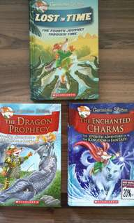 Geronimo Stilton Books / X-Venture Explorers