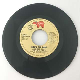 The Bee Gees - Down the Road / Night Fever - Vintage Vinyl Record