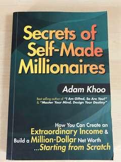 【Last Piece!】Secrets of Self-Made Millionnaires
