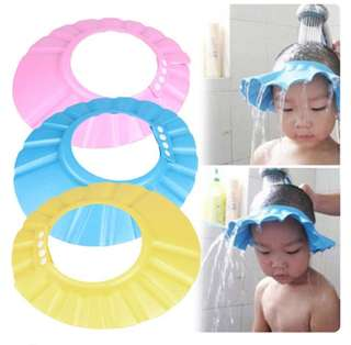 Baby Shower Bath Cap Kids Toddlers