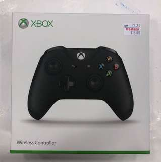 Xbox One Wireless Controller ( Black )