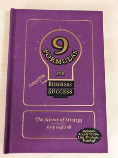 【Last Piece!】9 Formulas for Business Success