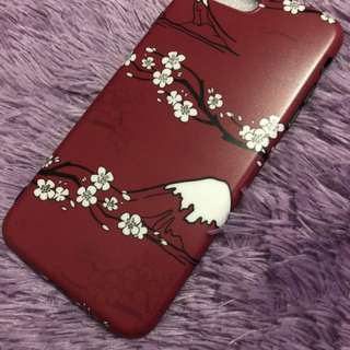 Case iphone 7/8+ sakura (red)