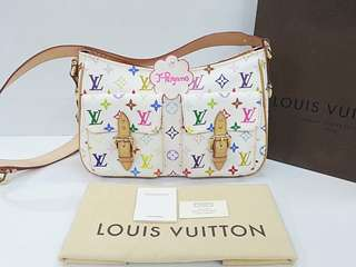Authentic Louis Vuitton Monogram Multicolor White Lodge GM {{ Only For Sale }} ** No Trade ** {{ Fixed Price Non-Neg }} ** 定价 **