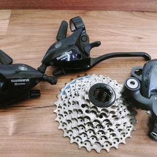 For sale 8spd shimano groupset