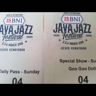 Java jazz tickets