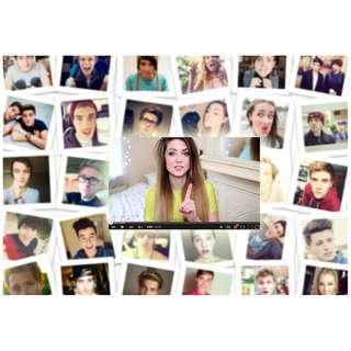 YouTube personalities or celebrities?