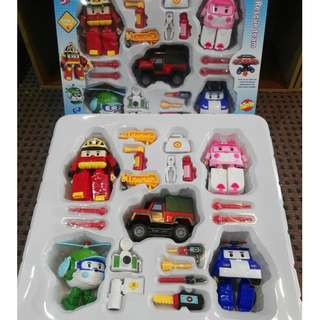 5in1 Robocar Poli Rescue Teams