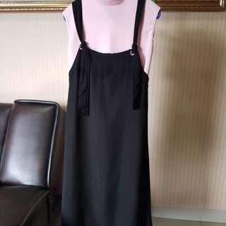 Set Dress Pink & Black