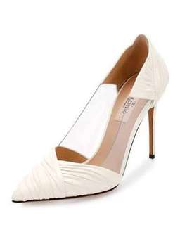 Used Once Valentino Wedding Shoes 7.5 $895 Value